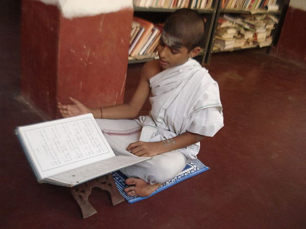 Student learning Veda