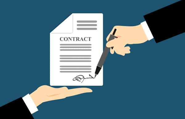 Corporate law contract for business