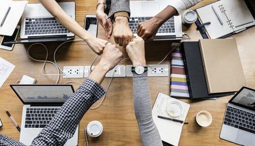 Team building meeting - learning communication skills