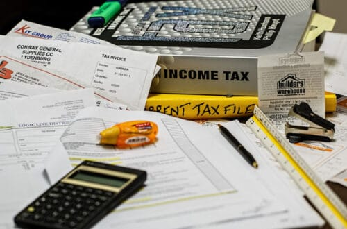 business Tax accounting office